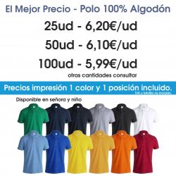 OFERTA - POLO ALGODÓN